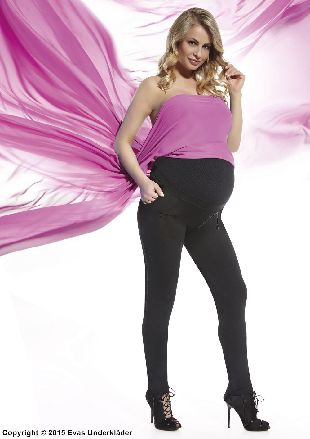 sexställning gravid sexiga leggings
